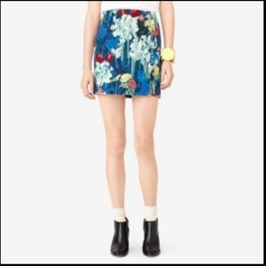 Kate Spade Saturday Painted Floral Skirt
